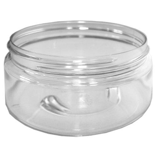 8oz Clear Pet Jar 89/400   SKU:BSJ-016