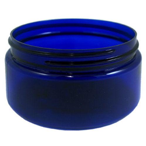 4oz Cobalt Blue Pet Jar 70/400   SKU:BSJ-014