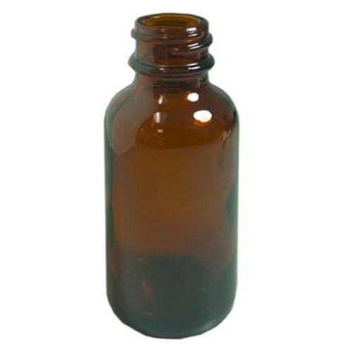 15ml Amber Glass Dropper Bottle 18mm   SKU:BSB-108