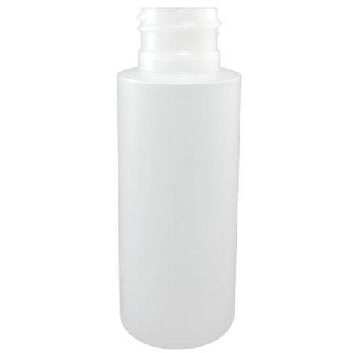 2oz Natural HDPE Cylinder 24/410   SKU:BSB-092