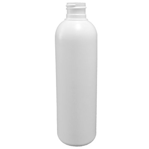 8oz White HDPE Bullet Cosmo Round 24/410   SKU:BSB-065