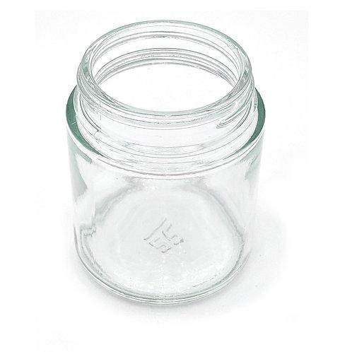 4oz Clear Glass Jar 58-400   SKU:BSJ-035