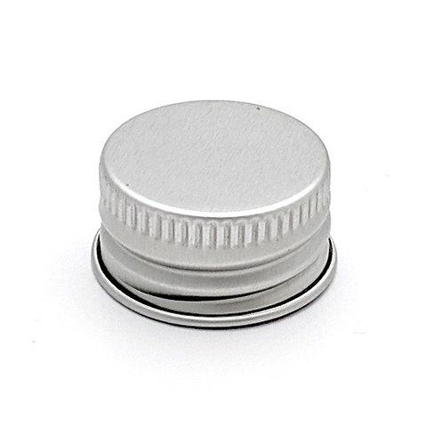 20/410 Silver Metal Cap With Liner   SKU:BSC-079