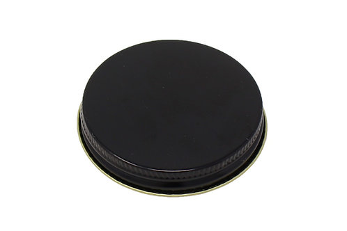 58/400 Black Metal Cap   SKU:BSC-085