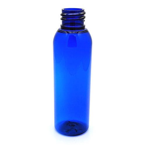 4oz Cobalt Blue Pet Bullet Cosmo Round 20/410   SKU:BSB-122