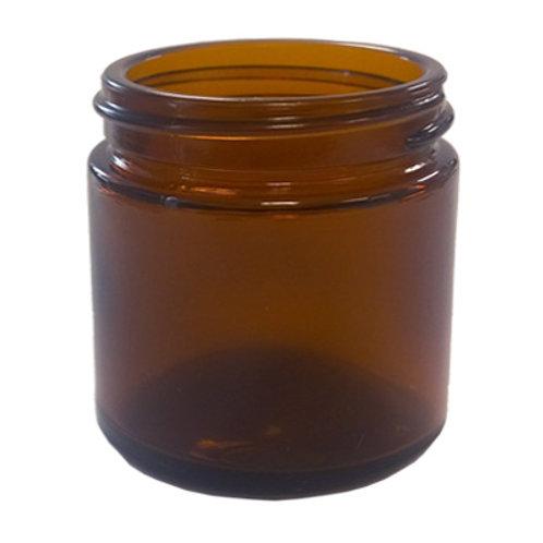 25ml Amber Glass Ointment Jar 38/400   SKU:BSJ-024