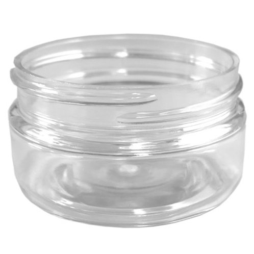 2oz Clear Pet Jar 58/400   SKU:BSJ-012