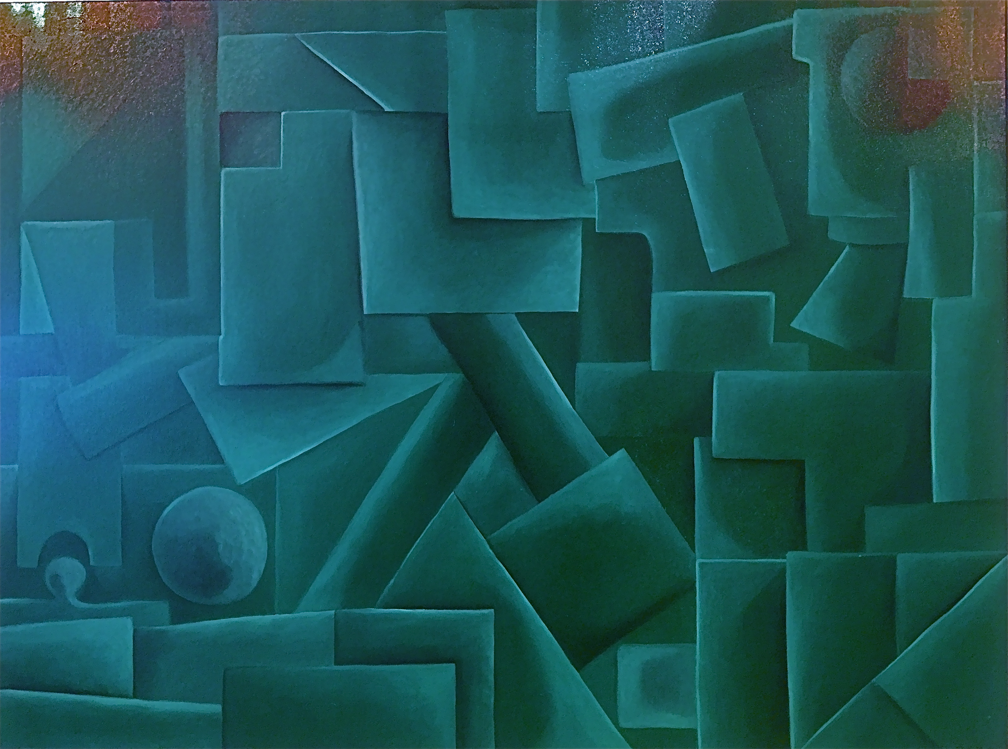 """""""The Green Cube"""""""