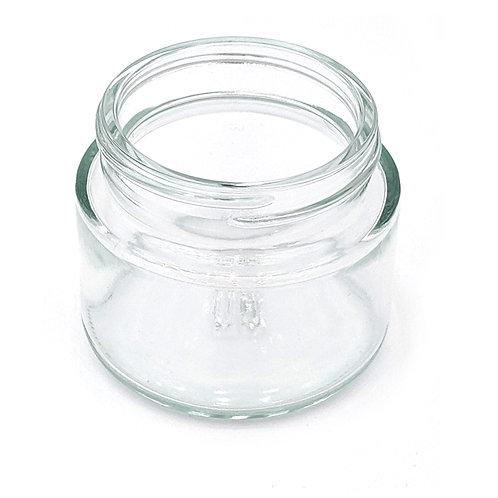 2oz Clear Glass Jar 53/400   SKU:BSJ-062