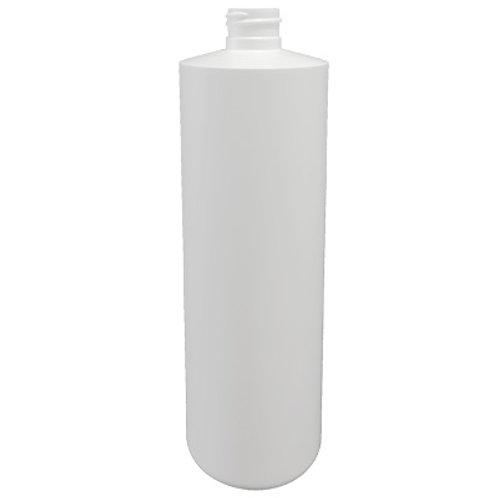 16oz White HDPE Cyl 28/400   SKU:BSB-008
