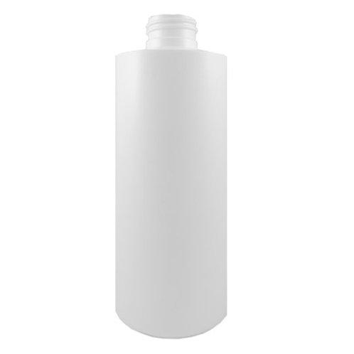 8oz White HDPE Cyl 24/410     SKU:BSB-023