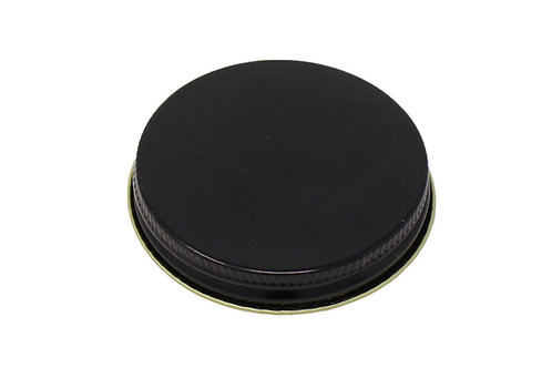 70/400 Black Metal Cap   SKU:BSC-082