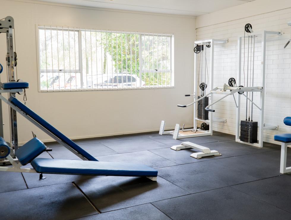 Weights room