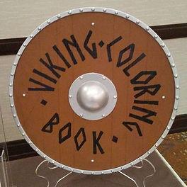 Viking Coloring Book Shield