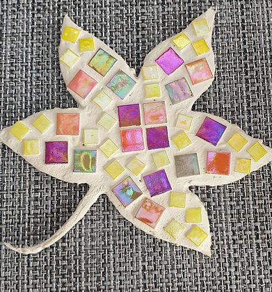 Autumn Leaf Mosaic