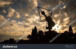 stock-photo-silhouettes-of-satellite-dis