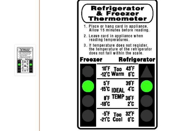 Fridge/Freezer Thermometer