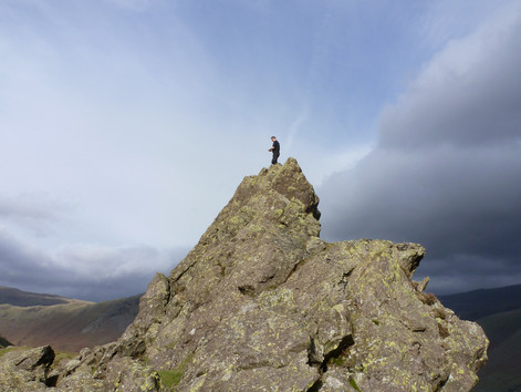 The Lake District - Conistonwater, Days 1, 2 and 3, walking days.