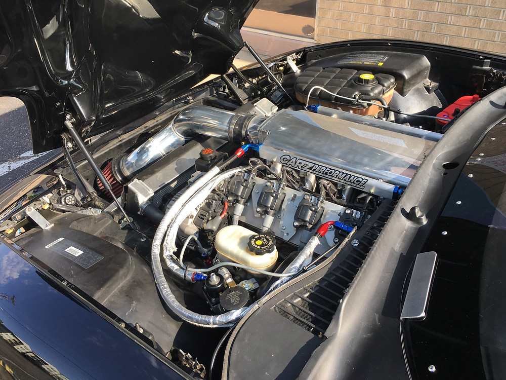 lsx, corvette, carz performance, v8, twintake, race car
