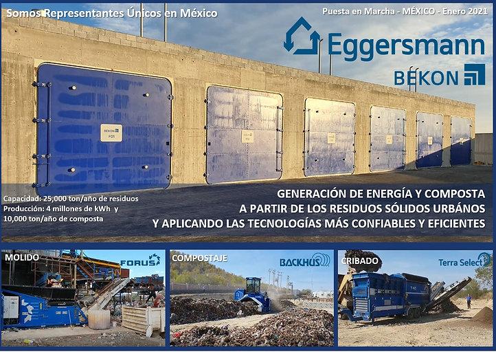 BEKON, Fermentación en seco, Biogás, Residuos Solidos Urbanos