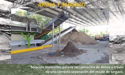Arena y Sargazo