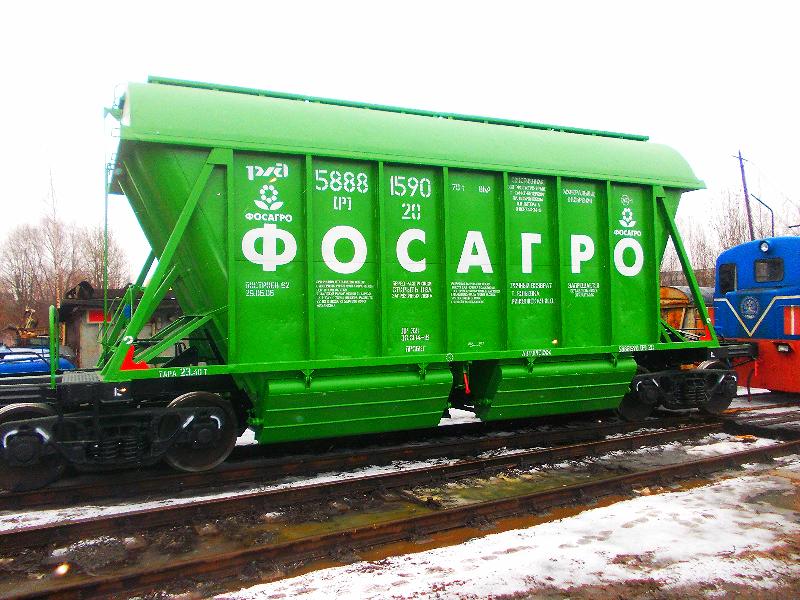 Окраска вагонов