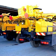 Буровые установки УРБ 2А2Д на базе Камаз 43118