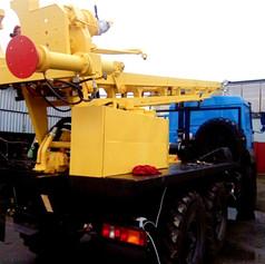 Буровая установка УРБ 2Д3 На базе Урал 5557