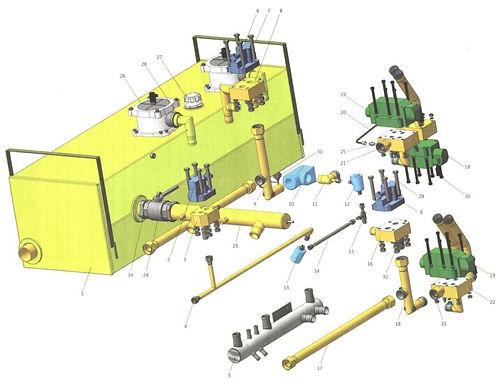 Обвязка гидросистемы 2-45А-001.jpg