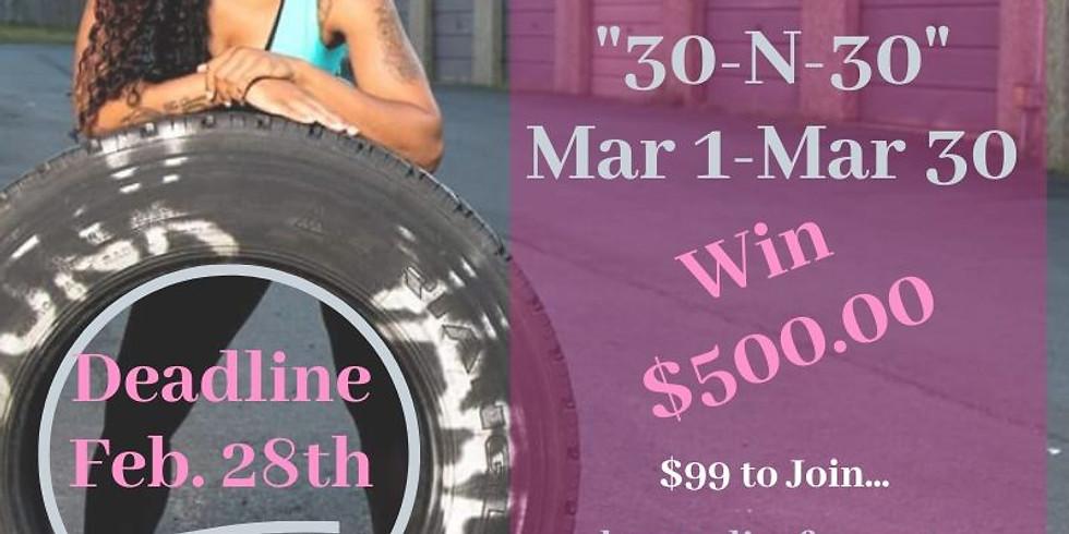1 Pound Club: 30~N~30 Challenge