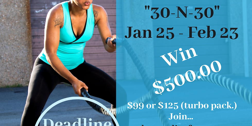 30~N~30 Weight Loss Challenge