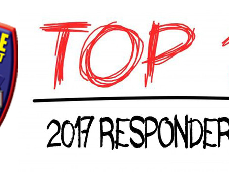 2017 Top 10 Responders Named