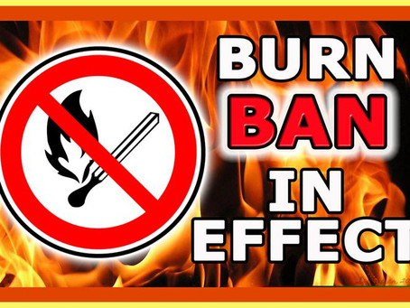 Residential Brush Burn Ban Through May 14th