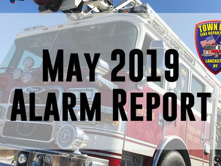 May 2019 Alarm Report