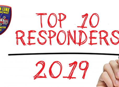 2019 Top Responders