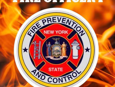 Fire Officer I Course Graduates