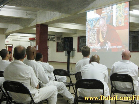 Dalai Lama and Harrison Ford Film Inspires Prison Inmates to Resolve Conflicts