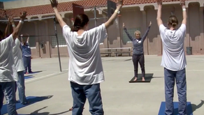 Yoga Helping Inmates Transcend Jail Cells