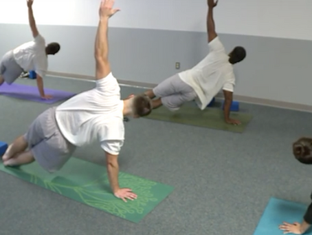 Inmates find freedom, connection in prison yoga class