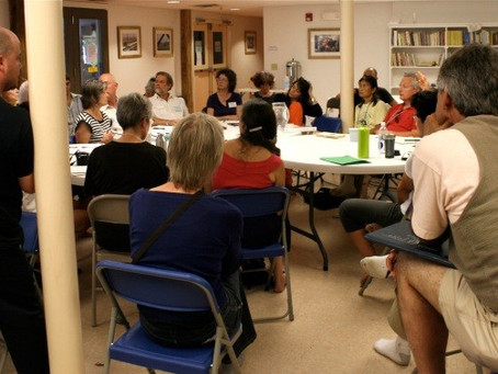 Prison Dharma Discussion at Socially Engaged Symposium