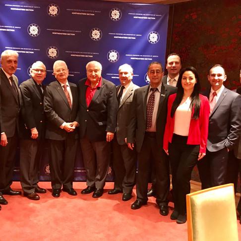 AESA Northeastern Section Hosts World Renown Armenian Physicist Dr. Yuri Oganessian