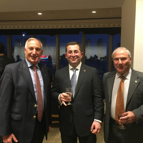 AESA Northeastern Section Celebrating the 28th Anniversary of Armenia's Independence at UN Reception