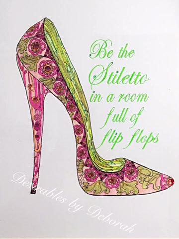 Fantasy Shoe