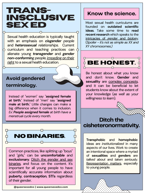 Trans-Inclusive Puberty