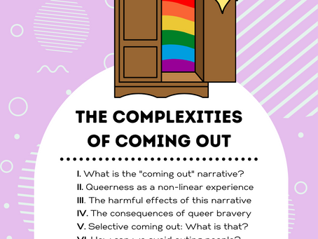 The Complexities of Coming Out
