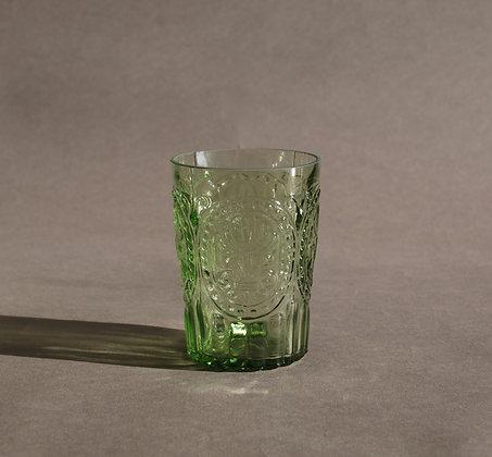 Portuguese Green water glass