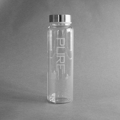 Glass litre flask