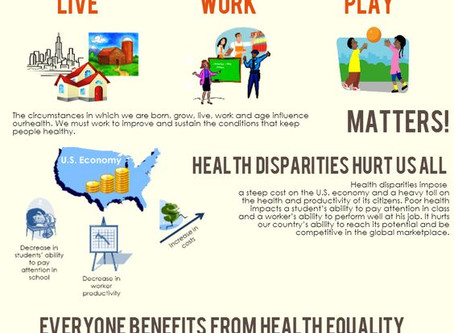 What is a health disparity?