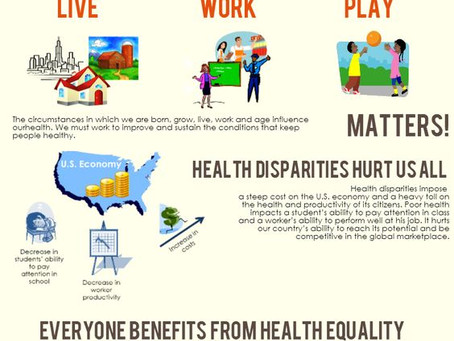 What is a health disparity?