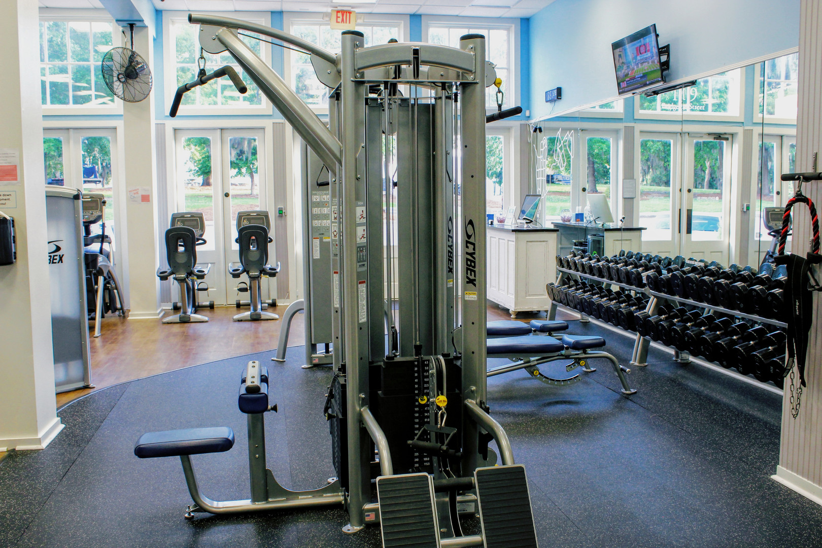 Pike Road's home gym!